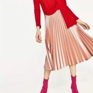 Zara skirt pleated